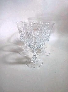 Cristal D'Arques Crystal Wine Glasses, Set of 5