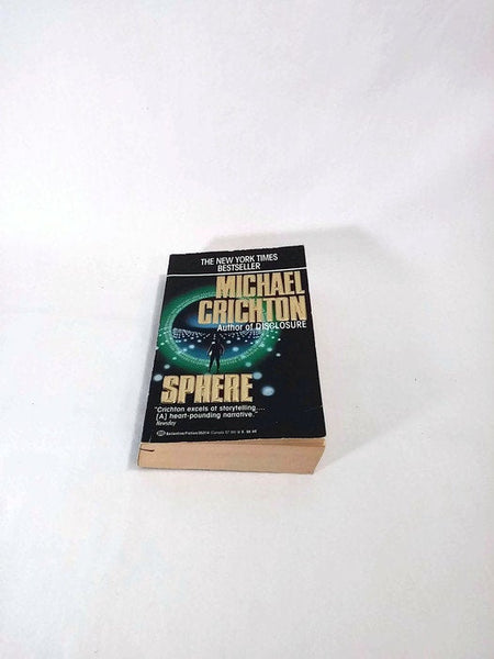 Sphere by Michael Crichton  Paperback  Sci-Fi/Thriller