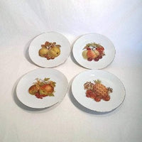 Bareuthor Fine China Salad/Dessert Plates, Set of 4