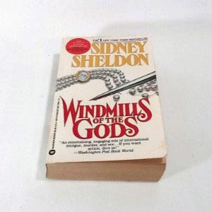Windmills of the Gods by Sidney Sheldon, Paperback
