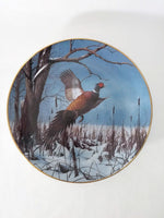 Decorative Waterfowl Art Plates from the Danbury Mint
