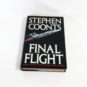Final Flight by Stephen Coonts, Hardcover, Military Thriller