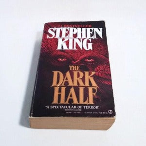 The Dark Half by Stephen King, Paperback, Horror