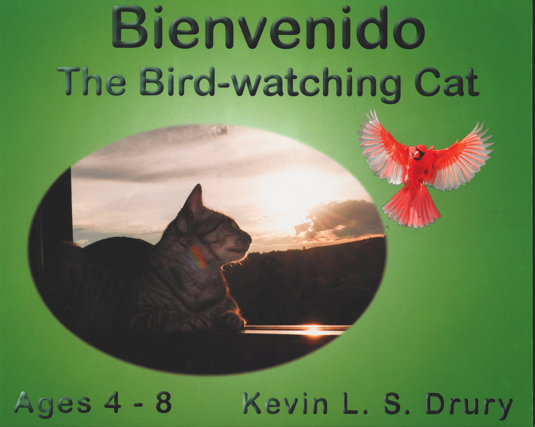 Bienvenido the Bird-watching Cat