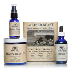 Adored Beast Yeasty Beast Protocol - 3 product kit