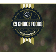 K-9 Choice Boxed Patties for Dogs 9.1kg