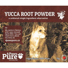 Yucca Root Powder 4 Paws Pure
