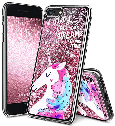 new arrival 757d9 3c310 Unicorn iPhone 6/ 6s Case, iPhone 6/6s Cases Girls, OCYCLONE Cute Bling  Sparkle Glitter SGS Verified TPU Protective Unicorn Case iPhone 6/6S Cover  ...