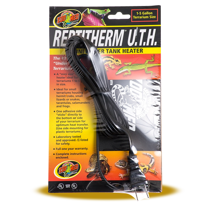 ZooMed ReptiTherm Under Tank Heater - Mini 1 to 5 gallons