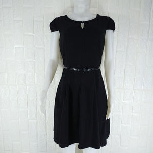 Next Black Cap Sleeve Formal Dress - okriks-market