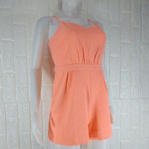 New Look Orange Spag Romper - okriks-market