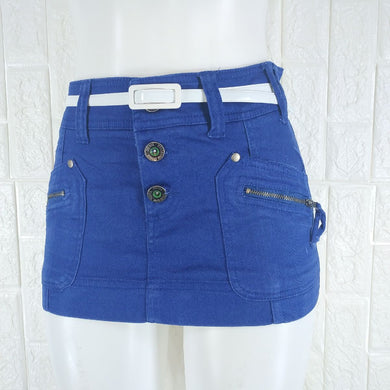 Bershka Denim Mini Skirt - okriks-market