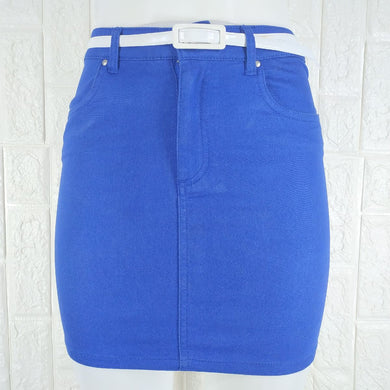 Divided Denim Stretch Skirt - okriks-market