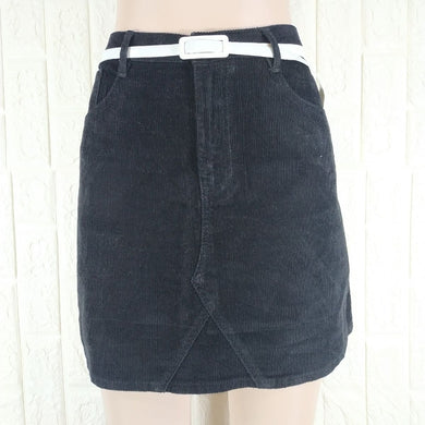 Denim Co Corduroy Short Skirt - okriks-market