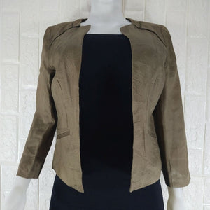 Promod Brown Lined Jacket - okriks-market