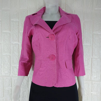 Collection Debenhams Pink Lined Tailored Office Jacket - okriks-market