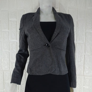 Dunnes Wool Mix Lined Tailored Office Jacket - okriks-market
