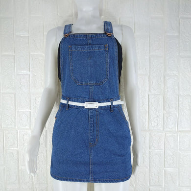 Forever 21 Blue Denim Dress - okriks-market