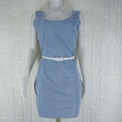 Denim Co Sky Blue Denim Dress - okriks-market