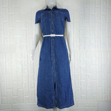 Trader Blue Denim Dress - okriks-market