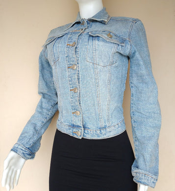 DENIM BLUE JEANS JACKET - okriks-market