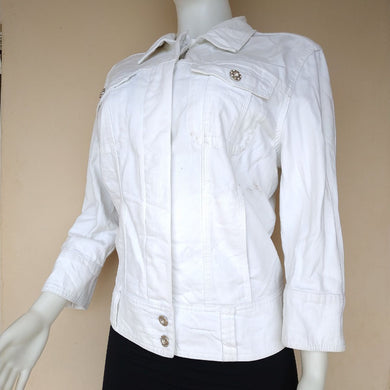 NEXT WHITE JEANS JACKET - okriks-market