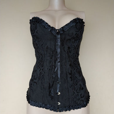 Unknown Black Boned Waist Cincher - okriks-market
