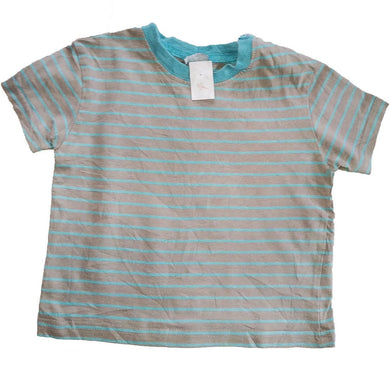 Striped Pastel Top With Shoulder Clips - okriks-market