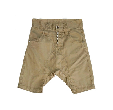 Brown Khaki Dancing Shorts - okriks-market