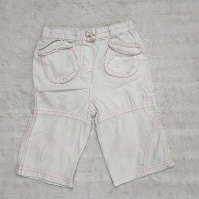 NEXT WHITE BABY SHORTS
