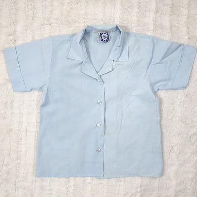 SCHOOL DAYS BLUE UNIFORM SHIRT