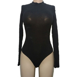 Bozzolo High Neck Bodysuit - okriks-market