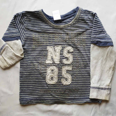 NS85 Long Sleeve Baby Boy Top - okriks-market