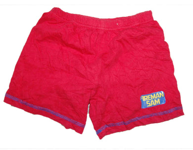 Red Fireman Sam Short For Boy - okriks-market
