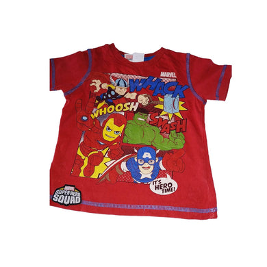 Super Hero Cartoon Character Boy Top - okriks-market