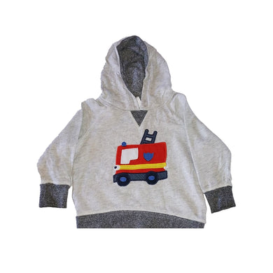 Lorry Print Sweat Top - okriks-market