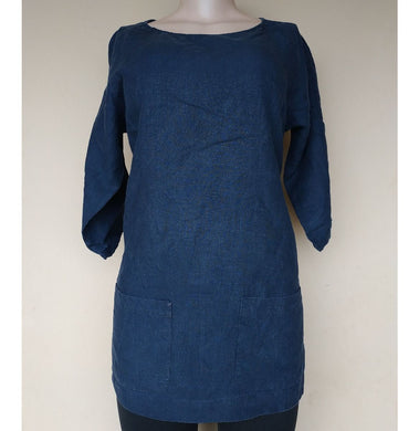 SERENITY WEST BLUE CASUAL TOP