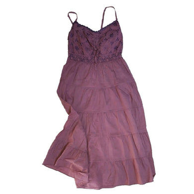 Carribean Purple Sleeveless Dress - okriks-market