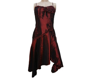 Wine Color Tube Dress - okriks-market