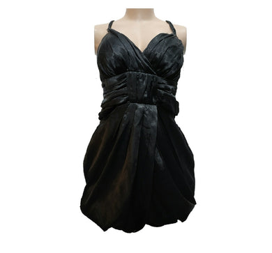 Satin Tulip Dress With Braided Strap - okriks-market