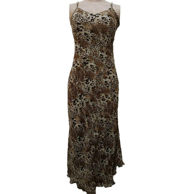 Animal Print Sleeveless Maxi Dress - okriks-market