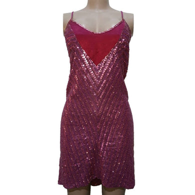 Sequined Sleeveless Party Dress - okriks-market
