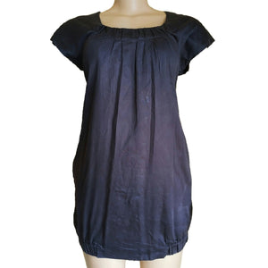 Grey Mini Shift Dress - okriks-market