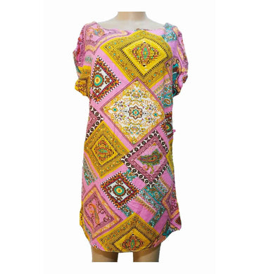 Print Mini Dress By New Look - okriks-market