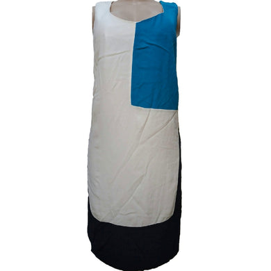 Sleeveless Color Block Dress - okriks-market