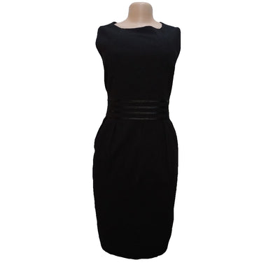PAPAYA BLACK CORPORATE DRESS - okriks-market