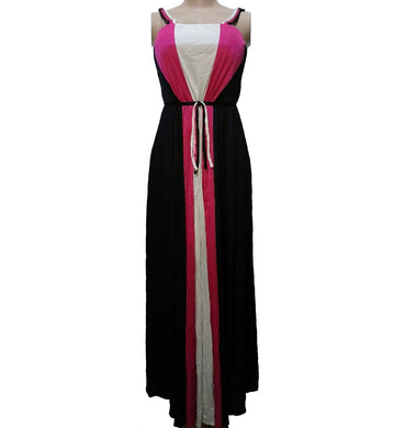 Color Block Maxi Dress By After Six - okriks-market