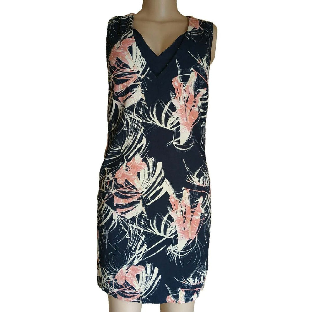 Floral Print Sleeveless Dress By Next - okriks-market