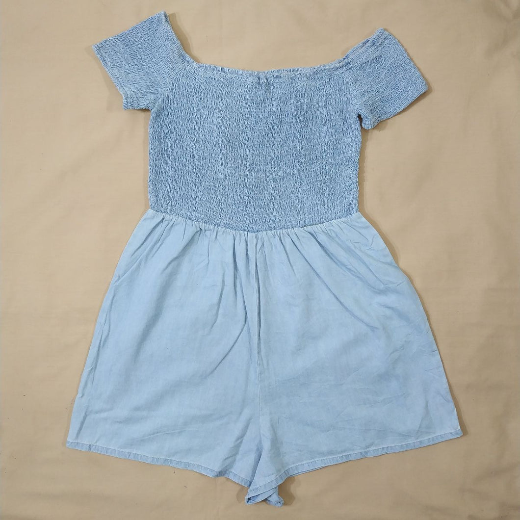 NEW LOOK SMOKEY JEANS ROMPER