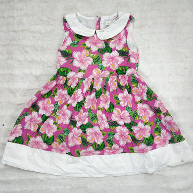 PUMPKIN PATCH FLORAL GIRLS DRESS